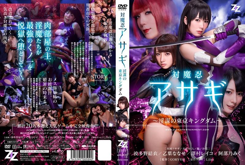 ZIZG-003 - Reiko Sawamura (Honami Takasaka, Masumi Takasaka) - cover