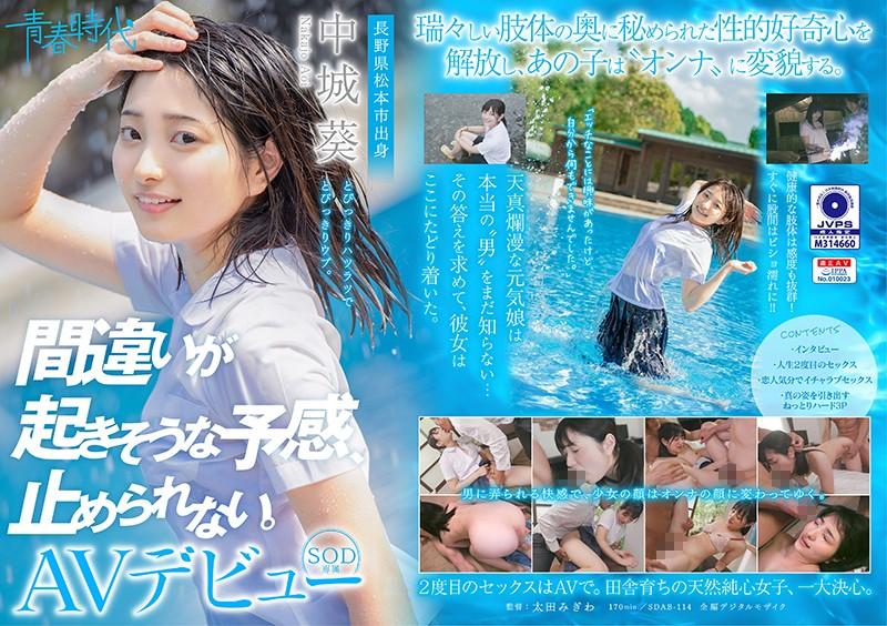 SDAB-114 - Aoi Nakashiro - cover