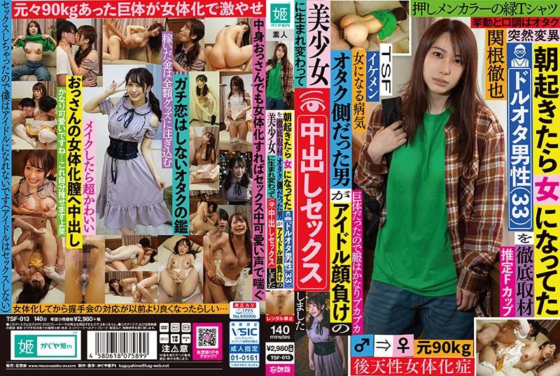 TSF-013 - Tetsuya Sekine - cover